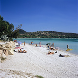 Plage De Santa Giulia, Southeast Coast, Corsica, France, Mediterranean, Europe Photographic Print by Stuart Black