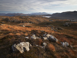 A Beautiful View from Plockton Crags, Plockton, Ross Shire, Scotland, United Kingdom, Europe Photographic Print by Jon Gibbs