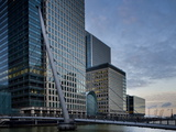 Canary Wharf, Docklands, London, England, United Kingdom, Europe Photographic Print by Ben Pipe