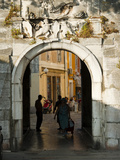Old Town Gate, Zadar, Zadar County, Dalmatia Region, Croatia, Europe Photographic Print by Emanuele Ciccomartino