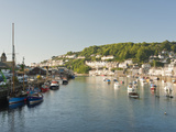 Morning Light on the River Looe at Looe in Cornwall, England, United Kingdom, Europe Photographic Print by David Clapp