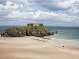 Fort St. Catherine, Pembrokeshire, Wales, United Kingdom, Europe Photographic Print by David Clapp