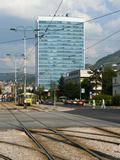 Bosnian Parliament Building, Sarajevo, Bosnia and Herzegovina, Europe Photographic Print by Emanuele Ciccomartino