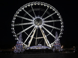 Ferris Wheel at Place De La Concorde, Paris, France, Europe Photographic Print by  Godong