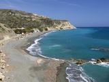 Beach View, Tertsa, Heraklion Region, Crete, Greek Islands, Greece, Europe Photographic Print by Stuart Black