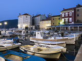 The Harbour at Dawn, Cres Town, Cres Island, Kvarner Gulf, Croatia, Adriatic, Europe Photographic Print by Stuart Black