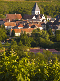 The Village of Sury En Vaux Near to the Famous Vineyards of Sancerre, Cher, Loire Valley, Centre, F Photographic Print by Julian Elliott
