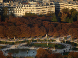 Aerial View of the Luxembourg Garden, Paris, France, Europe Photographic Print by  Godong