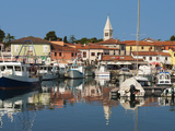 Harbour and Venetian Style Campanile, Novigrad (Cittanova), Istria, Croatia, Adriatic, Europe Photographic Print by Stuart Black