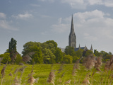 Salisbury Cathedral, Salisbury, Wiltshire, England, United Kingdom, Europe Photographic Print by Julian Elliott