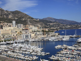 Port Hercule, Harbor, Monte Carlo, Monaco, Cote D'Azur, Mediterranean, Europe Photographic Print by Wendy Connett