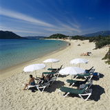 Beach View, Cala Rossa, Southeast Corsica, Corsica, France, Mediterranean, Europe Photographic Print by Stuart Black