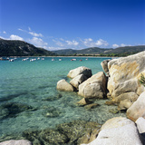 Plage De Santa Giulia, South East Corsica, Corsica, France, Mediterranean, Europe Photographic Print by Stuart Black