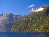 Milford Sound, Fiordland National Park, UNESCO World Heritage Site, South Island, New Zealand, Paci Photographic Print by Ben Pipe