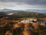 View Towards the Isle of Skye from Plockton Crags, Plockton, Ross Shire, Scotland, United Kingdom,  Photographic Print by Jon Gibbs