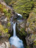 Taranaki Falls, Tongariro National Park, UNESCO World Heritage Site, North Island, New Zealand, Pac Photographic Print by Ben Pipe