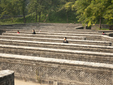 Labyrinth Maze Garden, Yuanmingyuan (Yuan Ming Yuan) Park, Old Summer Palace, Beijing, China, Asia Photographic Print by Kimberly Walker