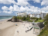 South Beach, Tenby, Pembrokeshire, Wales, United Kingdom, Europe Photographic Print by David Clapp