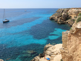 Cliff, Favignana, Sicily, Italy, Mediterranean, Europe Photographic Print by Vincenzo Lombardo