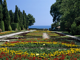 The Botanical Gardens, the Palace of Queen Marie, Balchik, Black Sea Coast, Bulgaria, Europe Photographic Print by Stuart Black