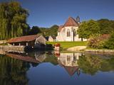 The Small Church of Saint Christophe in Cessy-Les-Bois, Burgundy, France, Europe Photographic Print by Julian Elliott