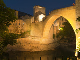 Stari Most (Old Bridge), UNESCO World Heritage Site, Mostar, Municipality of Mostar, Bosnia and Her Photographic Print by Emanuele Ciccomartino