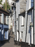 Back Streets in Looe, Cornwall, England, United Kingdom, Europe Photographic Print by David Clapp
