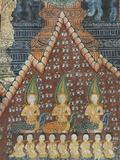 Interior Murals, Wat Pak Huak, Luang Prabang, Laos, Indochina, Southeast Asia, Asia Photographic Print by Richard Maschmeyer