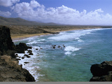 North Coast Beach, Near El Cotillo, Fuerteventura, Canary Islands, Spain, Atlantic, Europe Photographic Print by Stuart Black
