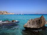 Cala Rossa, Trapani, Favignana Island, Sicily, Italy, Mediterranean, Europe Fotografisk tryk af Vincenzo Lombardo