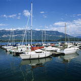 Marina on Lac Du Bourget, Aix Les Bains, Rhone Alpes, France, Europe Photographic Print by Stuart Black