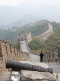 Cannon, Great Wall of China, UNESCO World Heritage Site, Mutianyu, China, Asia Photographic Print by Kimberly Walker