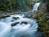 Tawhai Falls, Tongariro National Park, UNESCO World Heritage Site, North Island, New Zealand, Pacif Photographic Print by Ben Pipe