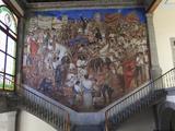Mural, El Castillo De Chapultepec (Chapultepec Castle), Chapultepec Park, Chapultepec, Mexico City, Photographic Print by Wendy Connett