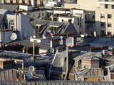 Paris Rooftops, Paris, France, Europe Photographic Print by  Godong