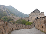 Great Wall of China, UNESCO World Heritage Site, Mutianyu, China, Asia Fotoprint van Kimberly Walker
