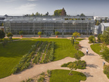 The Huge Greenhouse in the Jardins Botanique (Botanical Gardens), Tours, Indre Et Loire, Centre, Fr Photographic Print by Julian Elliott