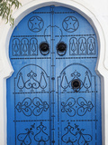 Door in Sidi Bou Said, Tunisia, North Africa, Africa Photographic Print by  Godong