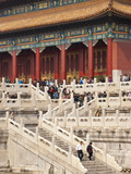 Gate of Heavenly Purity, UNESCO World Heritage Site, Forbidden City, Beijing, China, Asia Photographic Print by Kimberly Walker