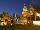 Wat Phra Singh Temple, Chiang Mai, Chiang Mai Province, Thailand, Southeast Asia, Asia Photographic Print by Ben Pipe