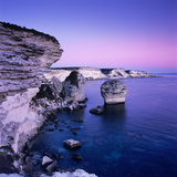 The Falaise at Dusk, Bonifacio, South Corsica, Corsica, France, Mediterranean, Europe Photographic Print by Stuart Black