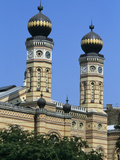 Polygonal Towers of the Grand Synagogue, Budapest, Hungary, Europe Photographic Print by Stuart Black