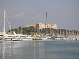 Fort Carre, Port Vauban, Antibes, Cote D'Azur, French Riviera, Provence, France, Mediterranean, Eur Photographic Print by Wendy Connett