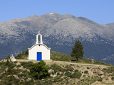 Greek Orthodox Chapel, Near Maza, White Mountains (Lefka Ori), Chania Region, Crete, Greek Islands, Photographic Print by Stuart Black