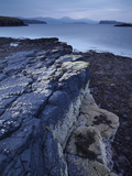 The View from the Tidal Causeway Near the Island of Oronsay, Isle of Skye, Inner Hebrides, Scotland Photographic Print by Jon Gibbs