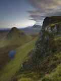 A View Southwards Along the Trotternish Peninsula from the Mountain Bioda Buidhe, Isle of Skye, Inn Photographic Print by Jon Gibbs