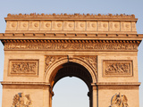 Arc De Triomphe, Paris, France, Europe Photographic Print by  Godong