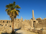 Obelisks of Tuthmosis I and Hatshepsut, Temple of Amun, Karnak, Thebes, UNESCO World Heritage Site, Photographie par  Tuul