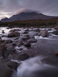 A Beautiful Early Winter Morning at Glen Sligachan, Isle of Skye, Inner Hebrides, Scotland, United  Photographic Print by Jon Gibbs
