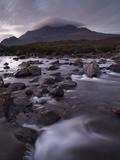 A Beautiful Early Winter Morning at Glen Sligachan, Isle of Skye, Inner Hebrides, Scotland, United  Photographic Print by Jon Gibbs